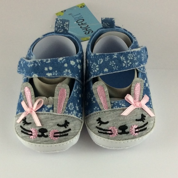 Shofort Month Baby Bunny Shoes